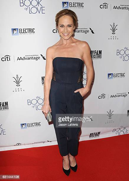 Actress Nikki DeLoach attends the premiere of The Book of Love at The Grove on January 10 2017 in Los Angeles California