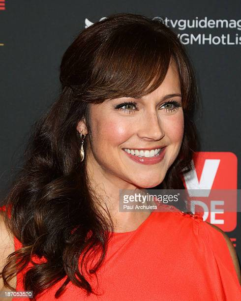 Actress Nikki DeLoach attends TV Guide magazine's annual Hot List Party at The Emerson Theatre on November 4 2013 in Hollywood California