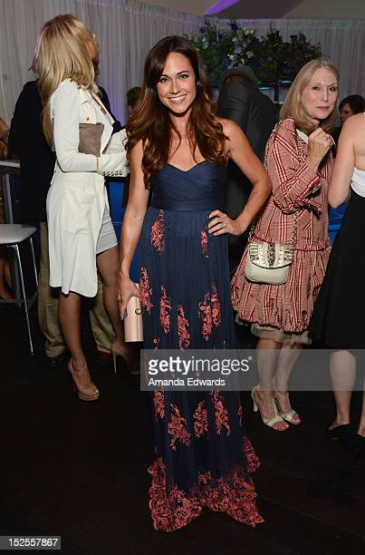 Actress Nikki DeLoach attends Variety and Women in Film PreEMMY Event presented by Saint Vintage at Scarpetta Beverly Hills on September 21 2012 in...