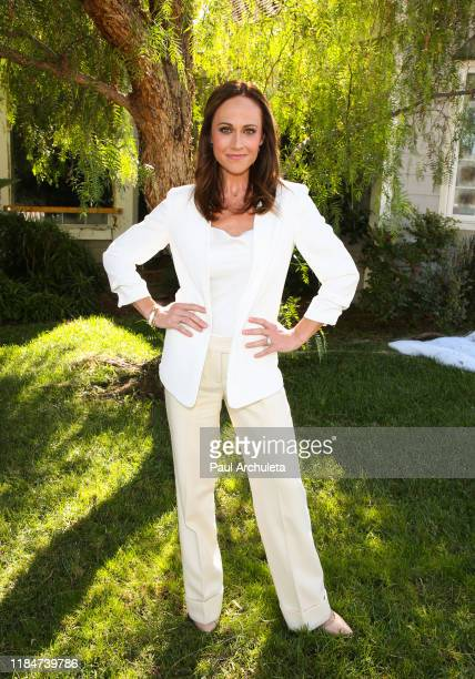 Actress Nikki DeLoach visits Hallmark Channel's Home Family at Universal Studios Hollywood on October 31 2019 in Universal City California