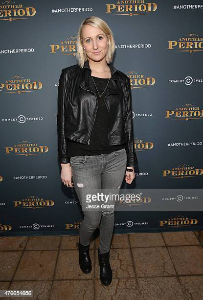 Actress Nikki Glaser attends Comedy Central's 'Another Period' Premiere Party Event at The Ebell Club of Los Angeles on June 10 2015 in Los Angeles...