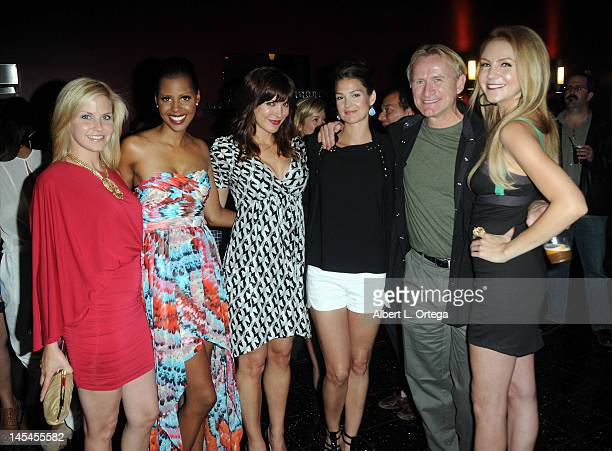 Actress Nikki Griffin actress Shani Pride actress Moniqua Plante actress Tiffany Brouwer actor Dean Haglund and actress Madison Dylan at the...