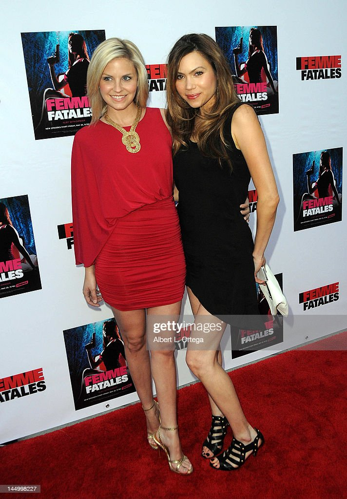 "Screening For Cinemax's ""Femme Fatales"" 2nd Season : News Photo"