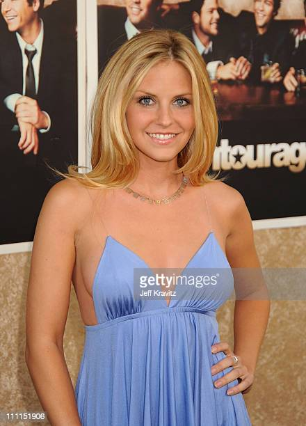 """Actress Nikki Griffin arrives on the red carpet to HBO's official premiere of """"Entourage"""" Season 6 held at Paramount Studios on July 9, 2009 in Los..."""