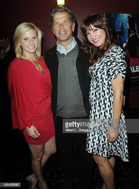 Actress Nikki Griffin producer Mark Gottwald and actress Moniqua Plante at the AfterParty For Cinemax's Femme Fatales 2nd Season held at ArcLight...