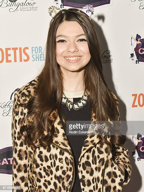 Actress Nikki Hahn attends the 2016 CATbaret Benefit Gala at Avalon on October 15 2016 in Hollywood California