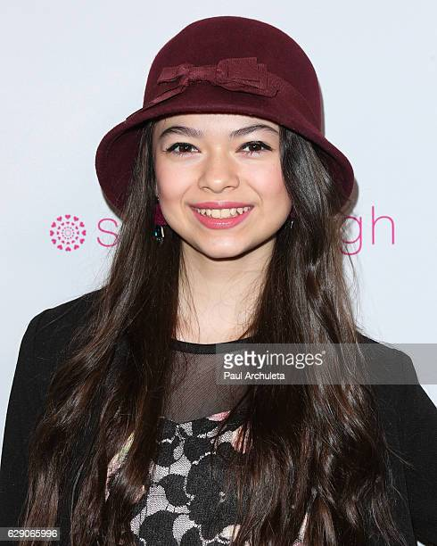 Actress Nikki Hahn attends the 'Shop With The Stars' event at Bloomingdale's on December 10 2016 in Century City California