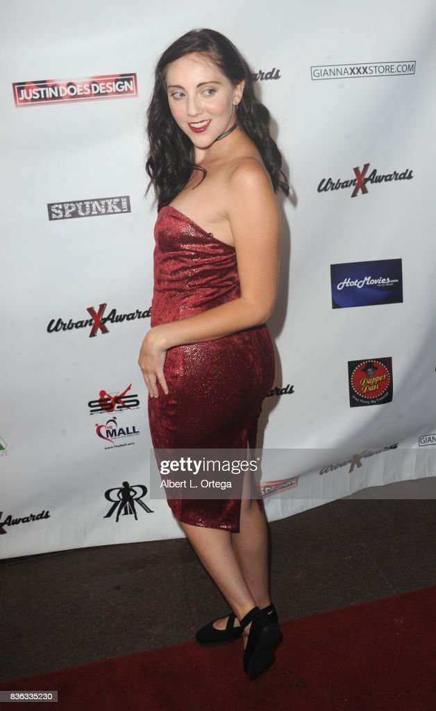 Actress Nikki Huntsman arrives for the 6th Urban X Awards held at Stars On Brand on August 20, 2017 in Glendale, California.