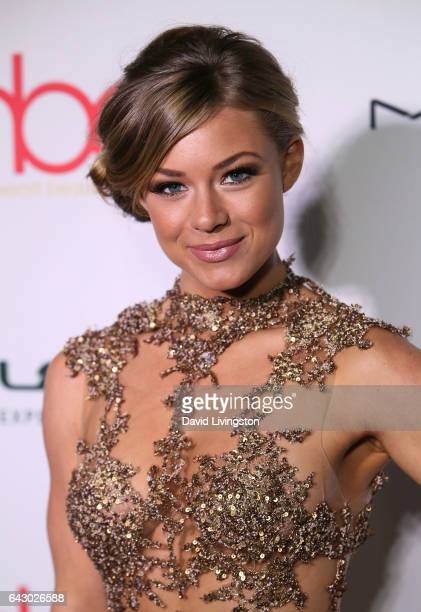 Actress Nikki Leigh attends the 3rd Annual Hollywood Beauty Awards at Avalon Hollywood on February 19 2017 in Los Angeles California