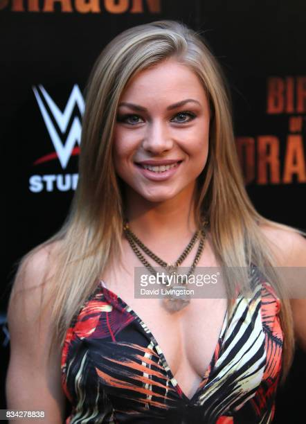 Actress Nikki Leigh attends the premiere of WWE Studios' 'Birth of the Dragon' at ArcLight Hollywood on August 17 2017 in Hollywood California