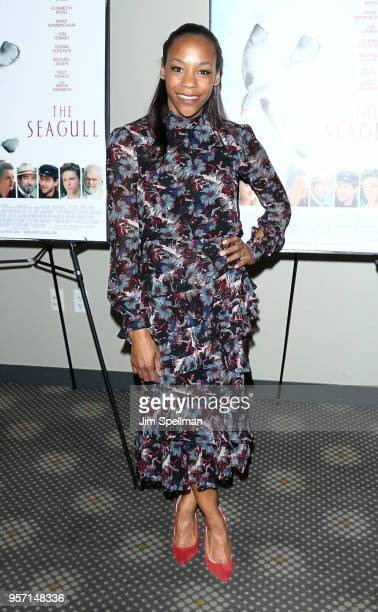 Actress Nikki M James attends the New York screening of The Seagull at Elinor Bunin Munroe Film Center on May 10 2018 in New York City