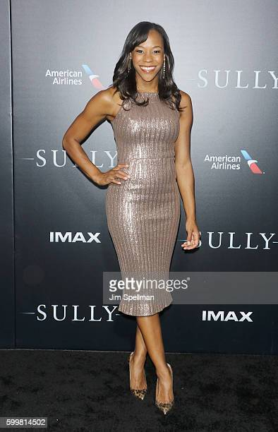 """Actress Nikki M. James attends the """"Sully"""" New York premiere at Alice Tully Hall, Lincoln Center on September 6, 2016 in New York City."""