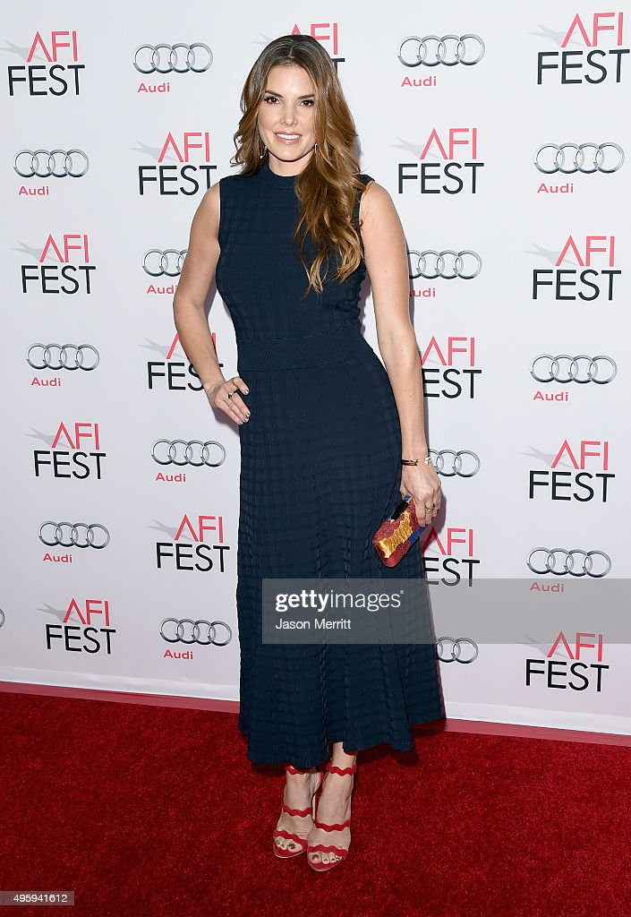 Actress Nikki Moore attends the opening night gala premiere of Universal Pictures' 'By the Sea' during AFI FEST 2015 presented by Audi at TCL Chinese 6 Theatres on November 5, 2015 in Hollywood, California.