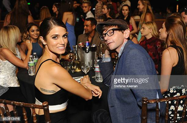 Actress Nikki Reed and actor DJ Qualls at the 2014 Young Hollywood Awards brought to you by Samsung Galaxy at The Wiltern on July 27 2014 in Los...