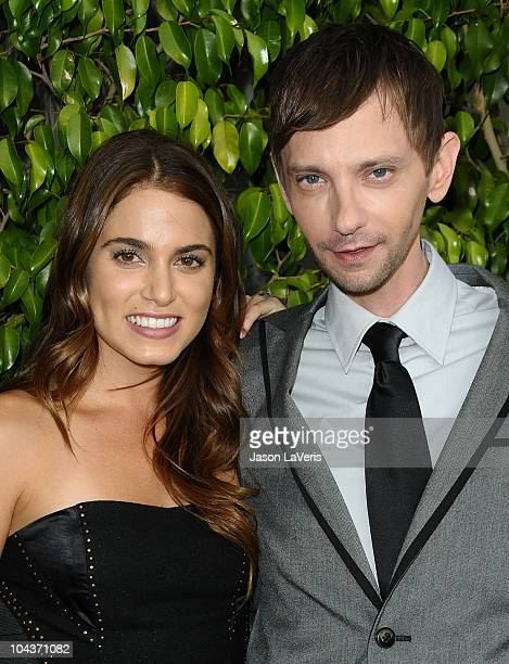 Actress Nikki Reed and actor DJ Qualls attend a screening of Last Day of Summer at Harmony Gold Theatre on September 22 2010 in Los Angeles California