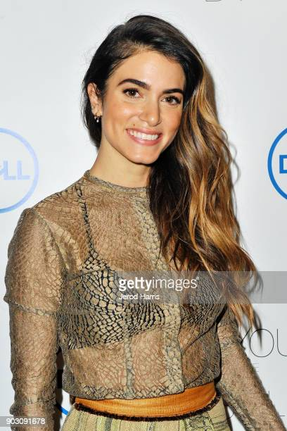 Actress Nikki Reed and Dell announce jewelry line made from recycled tech at CES on January 9 2018 in Las Vegas Nevada