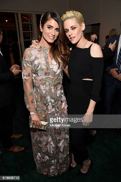 Actress Nikki Reed and honoree Kristen Stewart attend the 23rd Annual ELLE Women In Hollywood Awards at Four Seasons Hotel Los Angeles at Beverly...
