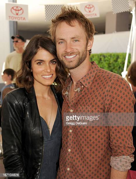 Actress Nikki Reed and husband/singer Paul McDonald attend the 37th Annual Toyota Pro/Celebrity Race on April 20 2013 in Long Beach California