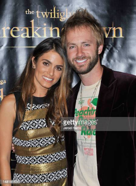 Actress Nikki Reed and Paul McDonald attend The Twilight Saga Breaking Dawn Part 2 VIP ComicCon Celebration Sponsored by Fandango at Float in the...