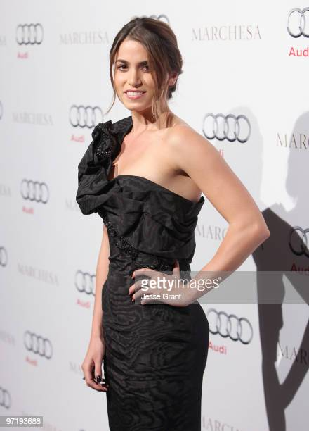 Actress Nikki Reed arrives at an Oscar red carpet fashion cocktail party hosted by Audi at Cecconi's Restaurant on February 28 2010 in West Hollywood...