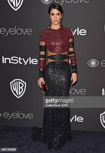 Actress Nikki Reed arrives at the 18th Annual PostGolden Globes Party hosted by Warner Bros Pictures and InStyle at The Beverly Hilton Hotel on...