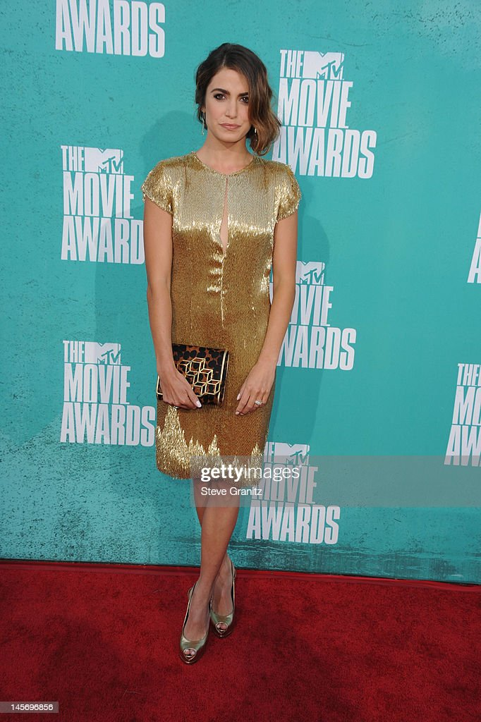 Actress Nikki Reed arrives at the 2012 MTV Movie Awards at Gibson Amphitheatre on June 3, 2012 in Universal City, California.