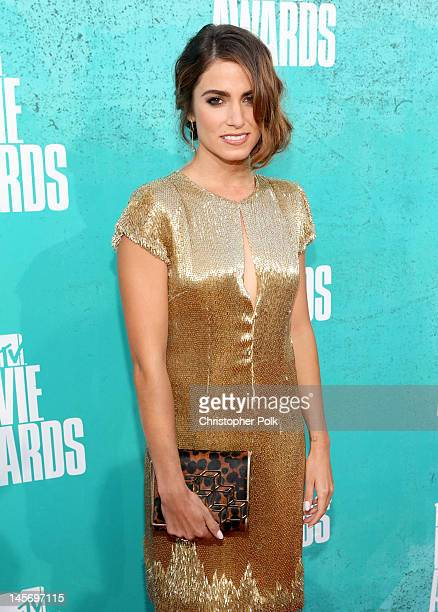 Actress Nikki Reed arrives at the 2012 MTV Movie Awards held at Gibson Amphitheatre on June 3 2012 in Universal City California