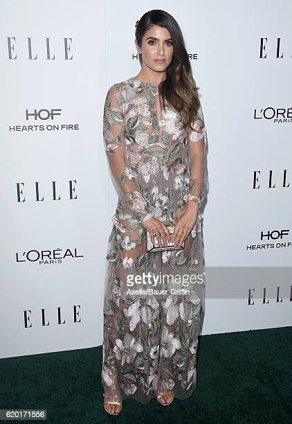 Actress Nikki Reed arrives at the 23rd Annual ELLE Women In Hollywood Awards at Four Seasons Hotel Los Angeles at Beverly Hills on October 24 2016 in...