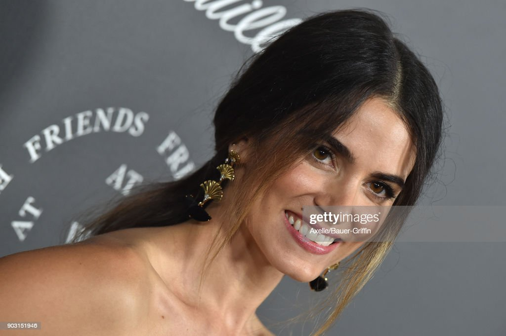 Actress Nikki Reed arrives at The Art of Elysium's 11th Annual Celebration - Heaven at Barker Hangar on January 6, 2018 in Santa Monica, California.