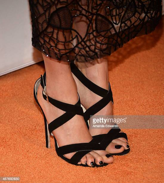 Actress Nikki Reed arrives at the ASPCA cocktail party honoring Kaley CuocoSweeting and Nikki Reed with ASPCA Compassion Awards at a private...
