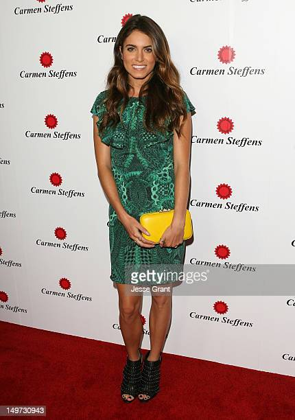 Actress Nikki Reed arrives at the Carmen Steffens US Flagship Store Opening at Carmen Steffens on August 2 2012 in Hollywood California