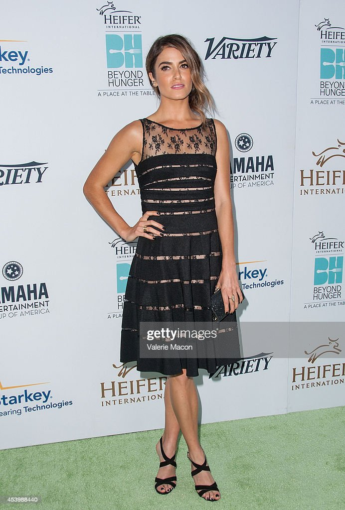 Actress Nikki Reed arrives at the Heifer International's 3rd Annual 'Beyond Hunger: A Place At The Table' Gala at Montage Beverly Hills on August 22, 2014 in Beverly Hills, California.