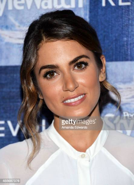 Actress Nikki Reed arrives at the People StyleWatch 4th Annual Denim Awards Issue party at The Line on September 18 2014 in Los Angeles California