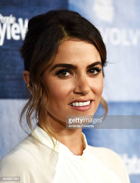 Actress Nikki Reed arrives at the People StyleWatch 4th Annual Denim Awards Issue party at The Line on September 18, 2014 in Los Angeles, California.