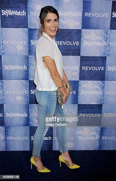 Actress Nikki Reed arrives at the People StyleWatch 4th Annual Denim Awards Issue at The Line on September 18 2014 in Los Angeles California