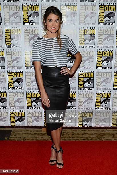 Actress Nikki Reed arrives at the press conference for The Twilight Saga Breaking Dawn Part 2 at San Diego ComicCon 2012 at San Diego Convention...