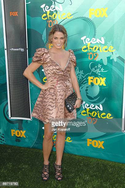 Actress Nikki Reed arrives at the Teen Choice Awards 2009 held at the Gibson Amphitheatre on August 9, 2009 in Universal City, California.