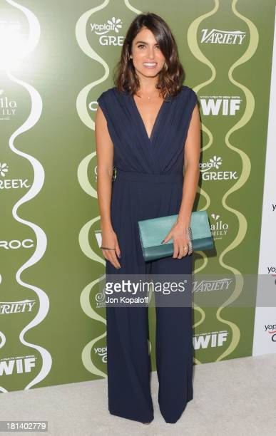 Actress Nikki Reed arrives at the Variety And Women In Film Pre-Emmy Party at Scarpetta on September 20, 2013 in Beverly Hills, California.