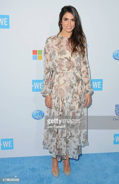 Actress Nikki Reed arrives at WE Day California at The Forum on April 7 2016 in Inglewood California