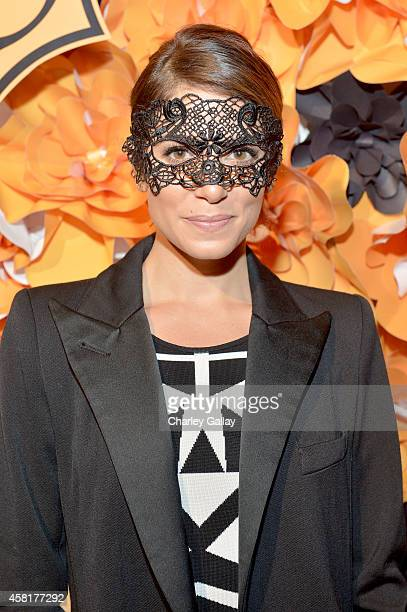 Actress Nikki Reed at The UNICEF Dia de los Muertos Black White Masquerade Ball at Hollywood Forever Cemetery benefitting UNICEF's education programs...