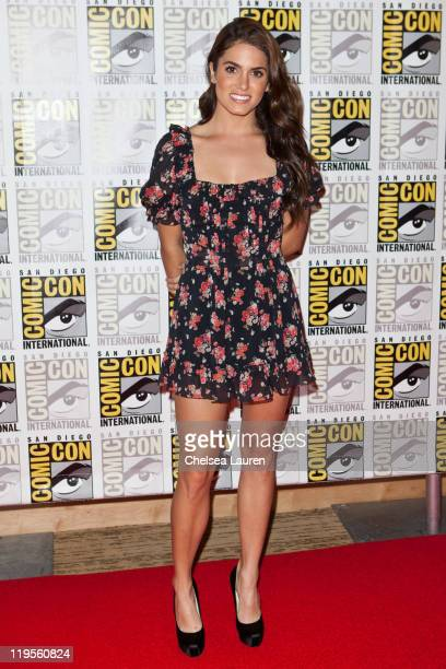 Actress Nikki Reed attends 2011 ComicCon International Day 1 at San Diego Convention Center on July 21 2011 in San Diego California