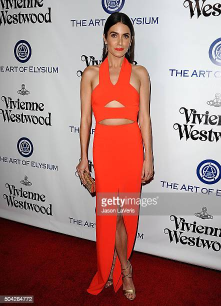 Actress Nikki Reed attends Art of Elysium's 9th annual Heaven Gala at 3LABS on January 9 2016 in Culver City California