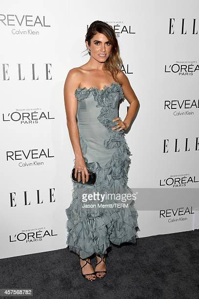 Actress Nikki Reed attends ELLE's 21st Annual Women in Hollywood Celebration at the Four Seasons Hotel on October 20 2014 in Beverly Hills California
