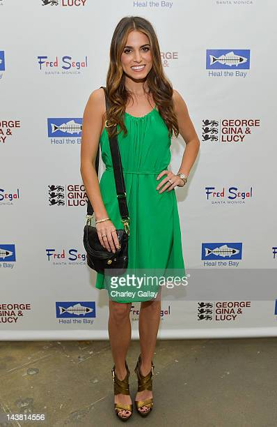 Actress Nikki Reed attends GEORGE GINA LUCY'S Originals Collection launch benefiting Heal The Bay at Fred Segal Santa Monica on May 3 2012 in Santa...