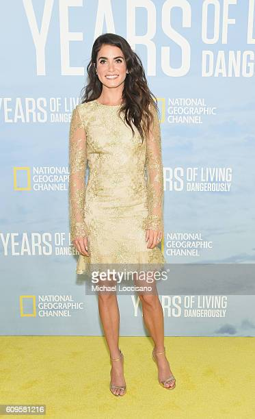 Actress Nikki Reed attends National Geographic's 'Years Of Living Dangerously' new season world premiere at the American Museum of Natural History on...