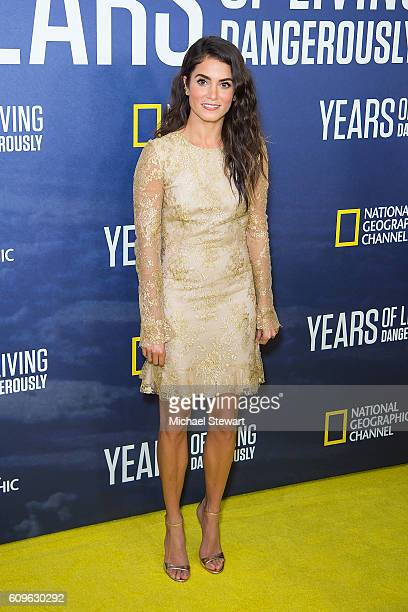Actress Nikki Reed attends National Geographic's 'Years Of Living Dangerously' new season world premiere at American Museum of Natural History on...
