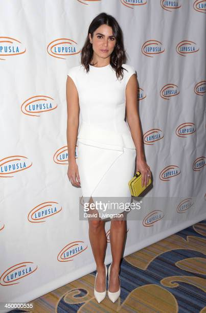 Actress Nikki Reed attends the 11th Annual Lupus LA Hollywood Bag Ladies Luncheon at the Beverly Wilshire Four Seasons Hotel on November 15 2013 in...