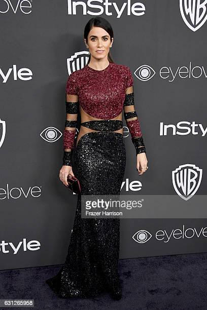 Actress Nikki Reed attends the 18th Annual PostGolden Globes Party hosted by Warner Bros Pictures and InStyle at The Beverly Hilton Hotel on January...