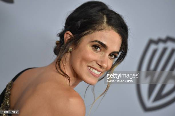 Actress Nikki Reed attends the 19th Annual PostGolden Globes Party hosted by Warner Bros Pictures and InStyle at The Beverly Hilton Hotel on January...