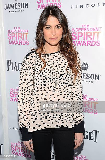 Actress Nikki Reed attends the 2013 Film Independent Filmmaker Grant And Spirit Awards Nominees Brunch at BOA Steakhouse on January 12 2013 in West...